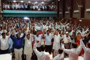 নাগরিকত্ব বিলের বিরুদ্ধে গোলাঘাটে সিএসএমএসএস-র প্ৰতিবাদ