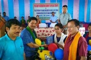 মেধাবী ছাত্ৰীদের স্কুটি বিতরণ করল বিটিসি শিক্ষা বিভাগ