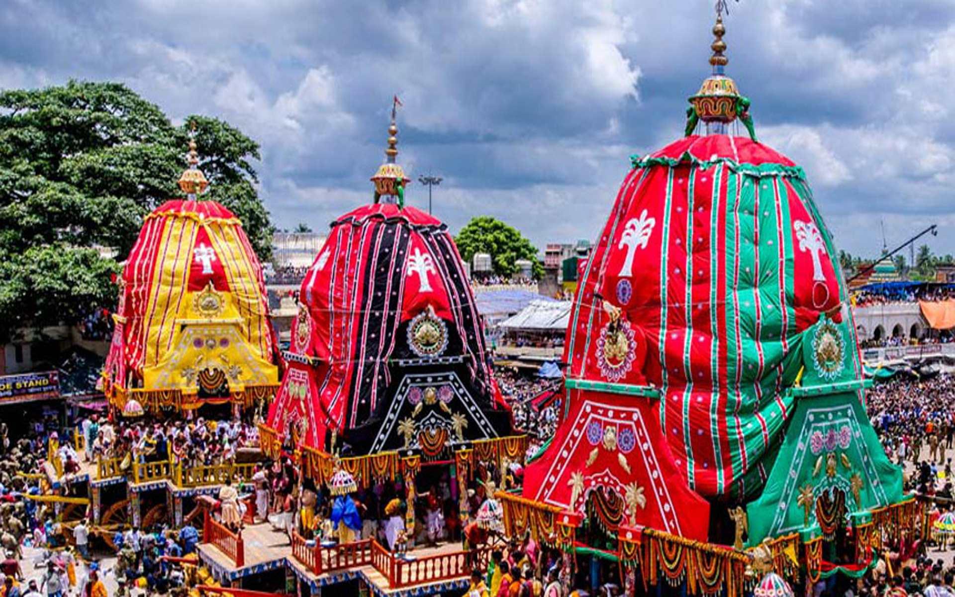 ১৪ জুলাই শ্ৰীশ্ৰী জগন্নাথ দেবের রথযাত্ৰা