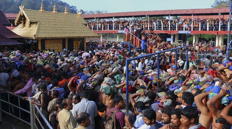 সবরীমালা মন্দির,২০৬১ জন ব্যক্তিকে গ্ৰেপ্তার করল কেরেলা পুলিশ