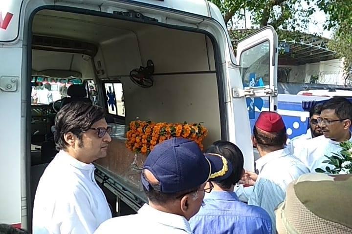 গুয়াহাটি এসে পৌঁছলো কর্নেল মনোরঞ্জন গোস্বামীর নশ্বর দেহ,আজ অন্ত্যেষ্টি