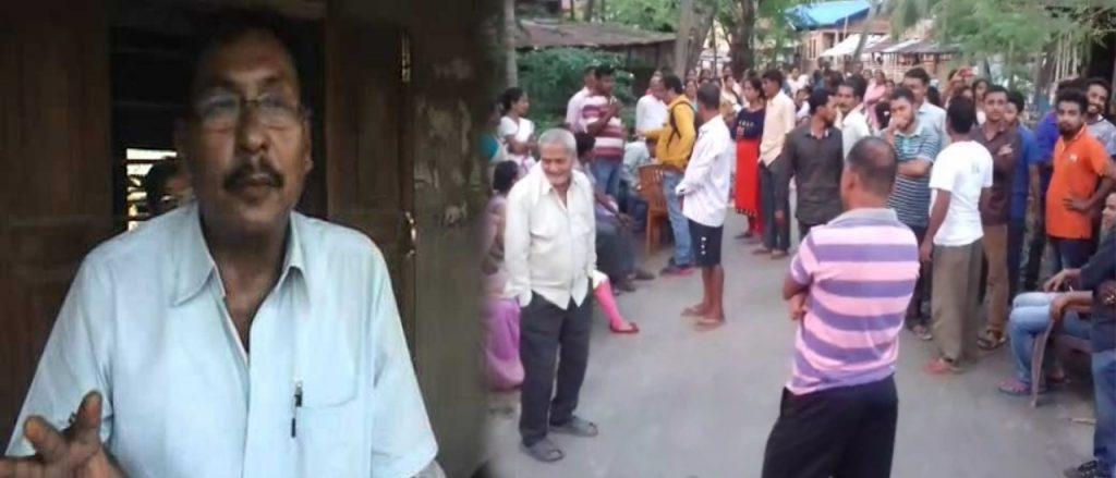 রাজেন গোহাইর বিরুদ্ধে যৌন কেলেংকারির অভি্যোগ নিয়ে উত্তাল নগাঁওয়ের দেউরি গাঁও