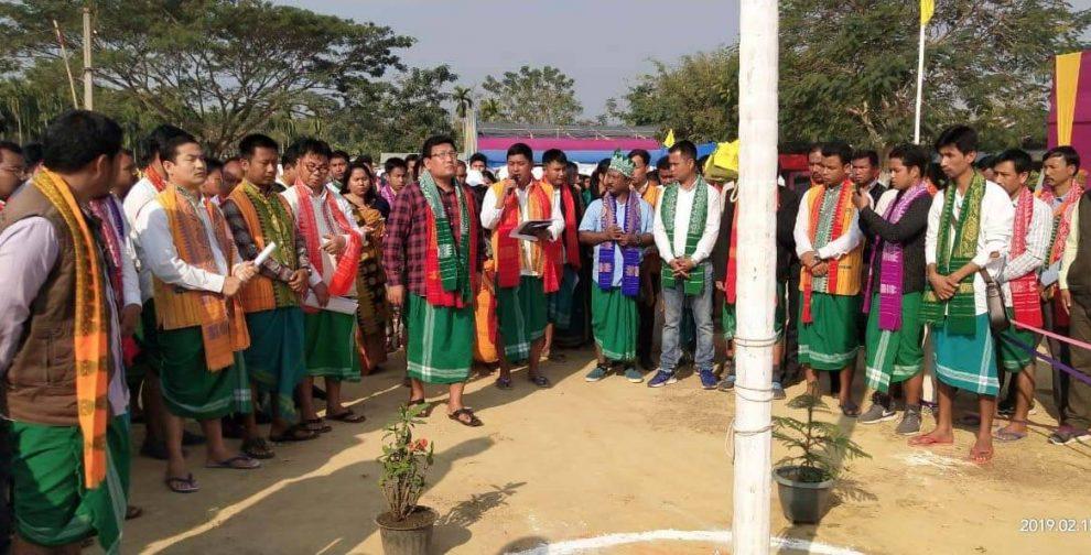 আবসুর প্ৰতিষ্ঠা দিবস পালন,বোড়োল্যান্ড রাজ্যের দাবি