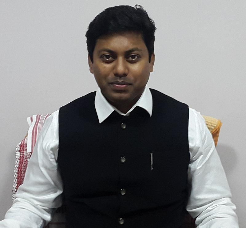 তেজপুর লোকসভা কেন্দ্ৰে বিজেপির প্ৰার্থী পল্লব লোচন দাস