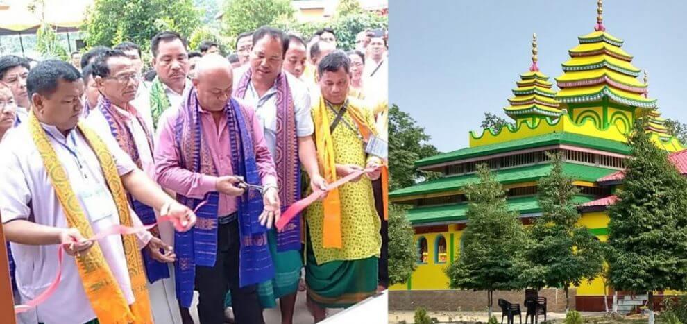 খৈরাবাড়িতে বাথৌ থানশালির উদ্বোধন করলেন হাগ্ৰামা