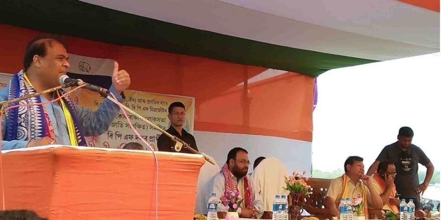 কোকরাঝাড়ের সাংসদ নবকুমার শরনিয়ার সমালোচনা করলেন হিমন্ত