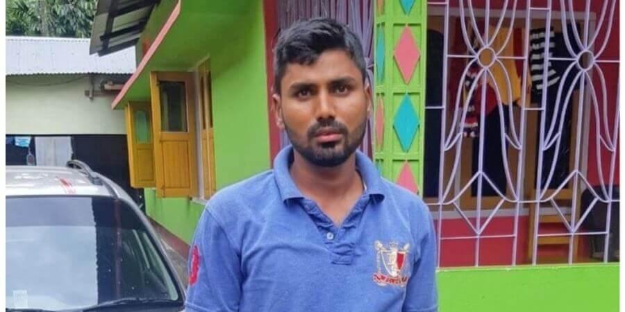 নকশাল হানায় আহত কোবরা জওয়ান মিজানুর ঘরে ফিরলেন