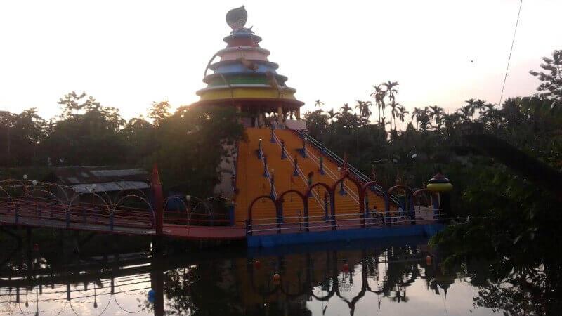 লখিমপুর জেলার ১১০টি মণ্ডপে পুজোর আয়োজন