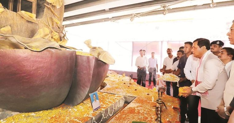 ২০০৮-এ ধারা বিস্ফোরণে নিহতদের প্ৰতি মুখ্যমন্ত্ৰীর শ্ৰদ্ধার্ঘ্য