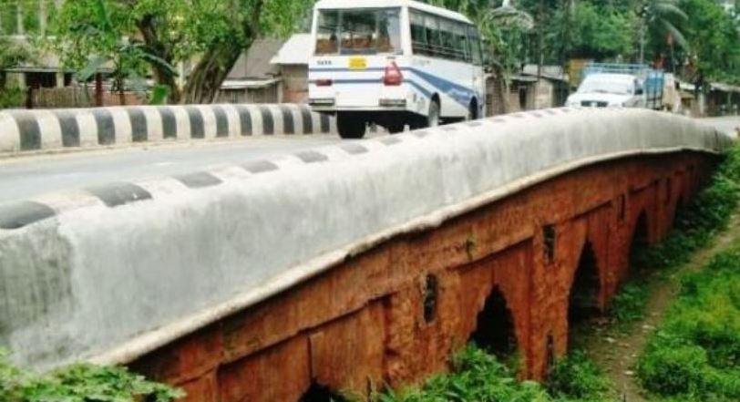 নামডাং পাথরের সেতু সারাইয়ে দিশপুরের প্ৰস্তাব